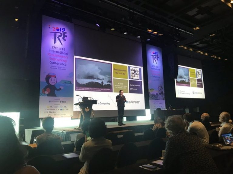 Bashar gives opening keynote address at RE'19 in South Korea