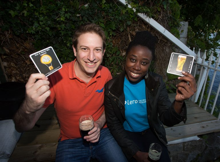 Fayola and George Present at Pint of Science