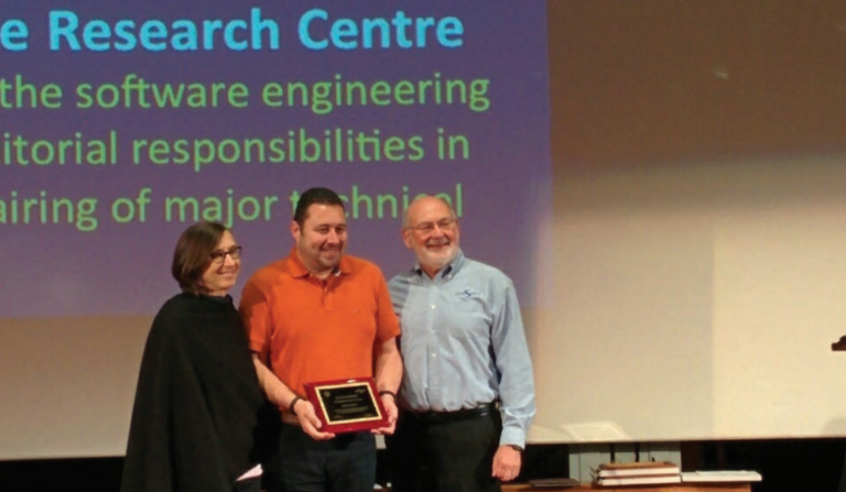 Bashar recieves the ACM SIGSOFT Distinguished Service Award