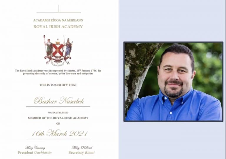 Congratulations to Bashar